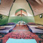 Foto Vayu tent binnenkant