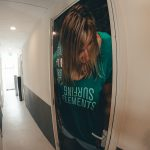 Kitesurf vakantie strand horst: gemeenschappelijke douche toilet