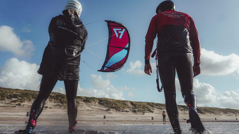 Kitesurf lesson zandvoort